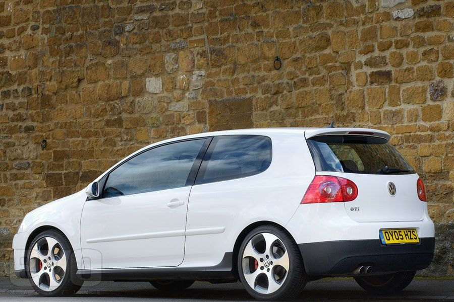 VW Golf GTI Mk5 Rear Quarter Car VolkswagenCar TuningConcept