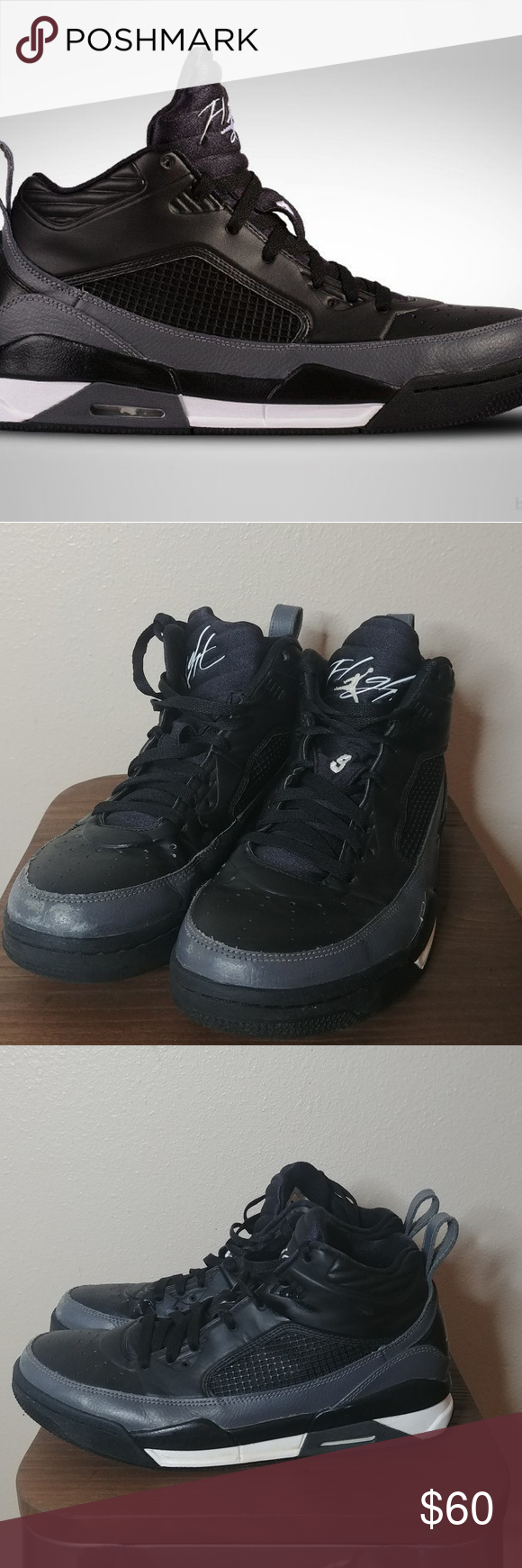 ee499db53d7 Air Jordan Flight Nine Point Five 654262-005 10 Air Jordan Flight Nine  Point Five 9.5 Style  654262-005 Size 10 Preowned