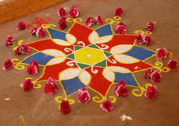 Mesmerising Rangoli Designs And Patterns For Home And Office