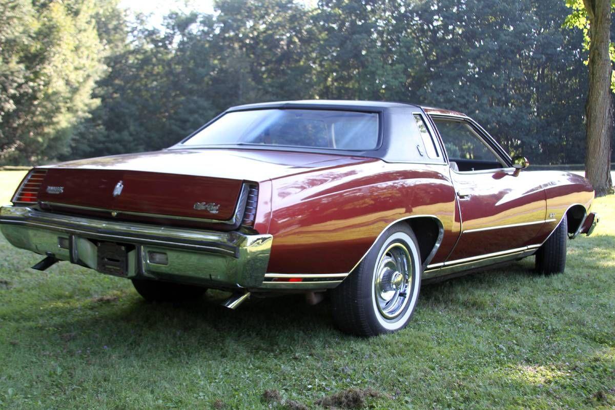 1973 Chevrolet Monte Carlo Landau Chevrolet Monte Carlo Chevy