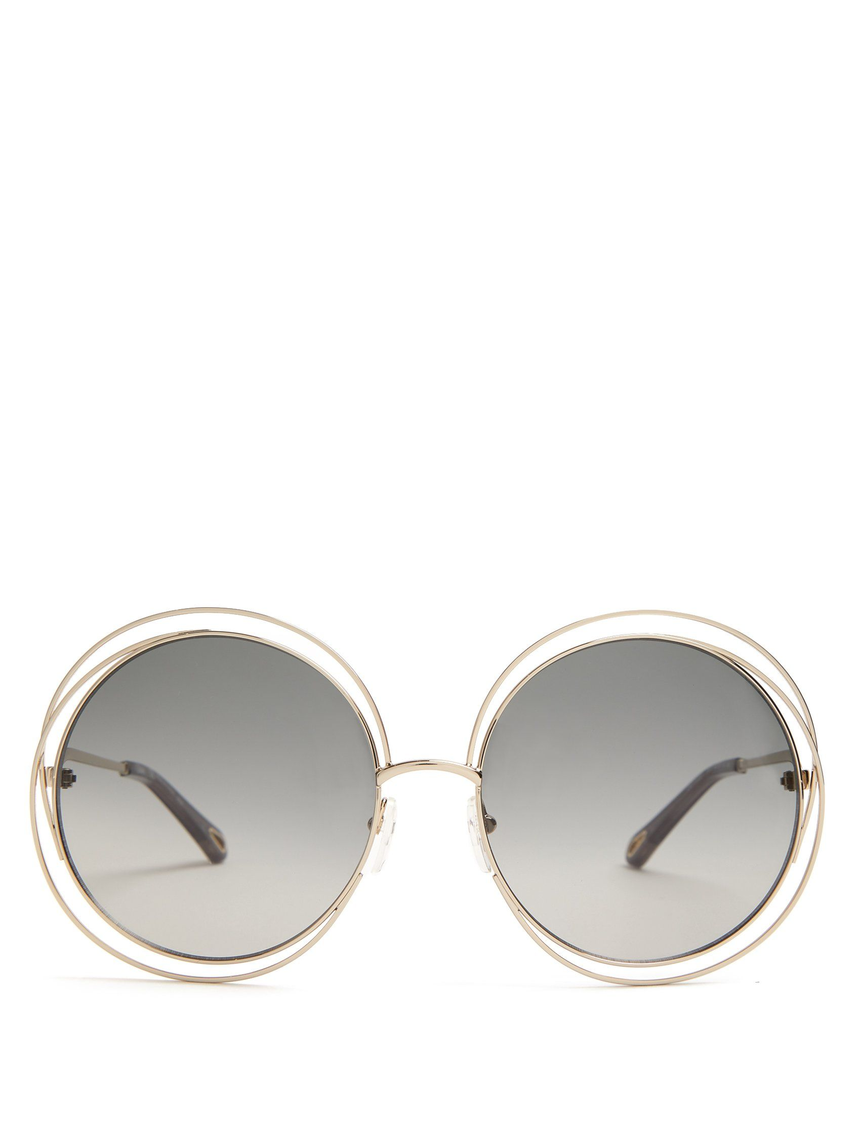 2271cebf05 Click here to buy Chloé Carlina round-frame sunglasses at MATCHESFASHION.COM