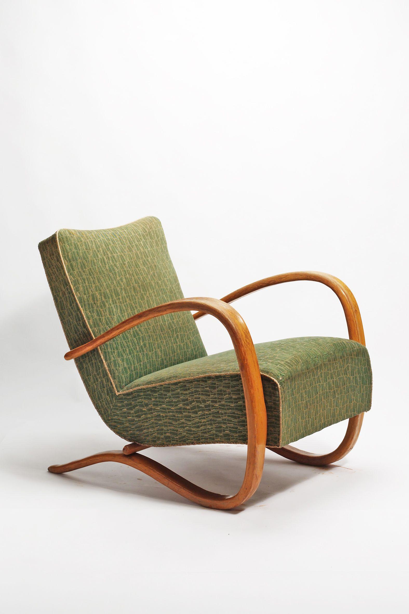 Jindrich Halabala Fauteuil H 269 Um 1940 Chair Designs