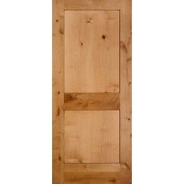 Reno Knotty Alder 2 Panel Shaker Square Sticking Door 1 3 8 Wood Doors Interior
