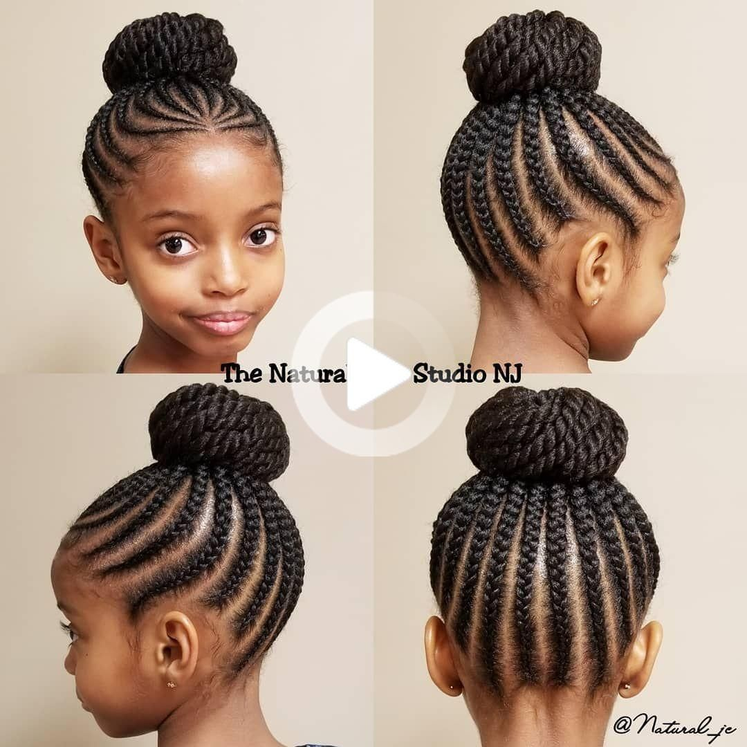 Braided Hairstyles 2018 Little Black Girl Jlo Braided Hairstyles Dutch Braid Hairstyl Coiffure Cheveux Naturels Idee Coiffure Cheveux Crepus Modele Coiffure