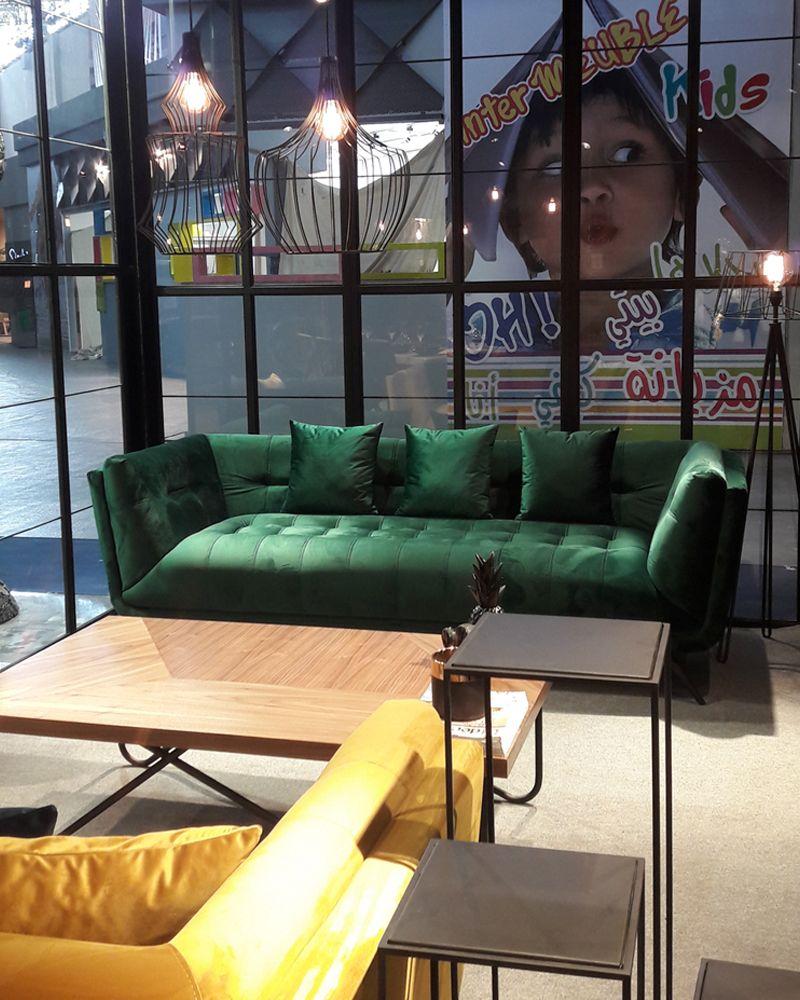 Vincent Deco S Expose Au Salon Du Meuble De Tunis 2018 Ideo Deco Meuble Salon