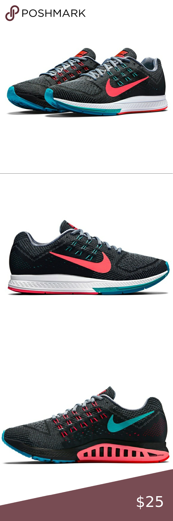 Necesitar Se asemeja huevo  Nike Air Zoom Structure 18 Sneakers | Nike air zoom, Sneakers, Nike