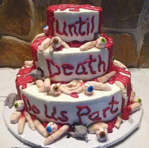 Until Death cake