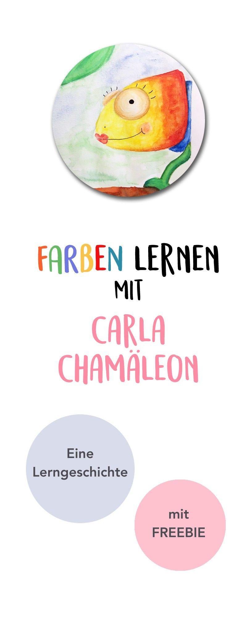 farben lernen mit carla cham leon lerngeschichte. Black Bedroom Furniture Sets. Home Design Ideas