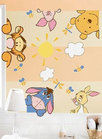 Winnie The Pooh Wall Decal Nursery Decor Poo Pinterest
