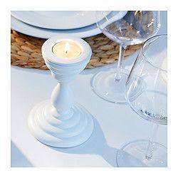 Diner en Blanc decoration idea: ÅRYD Tealight holder #DinerEnBlancCHI