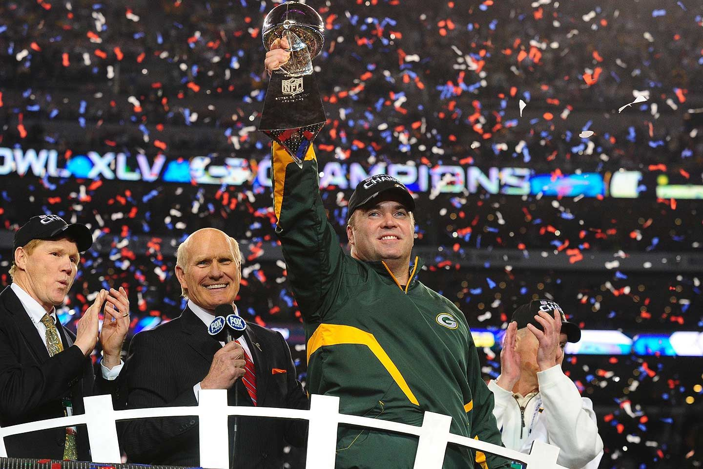 Mike McCarthy Super Bowl XLV Super bowl, Mike mccarthy