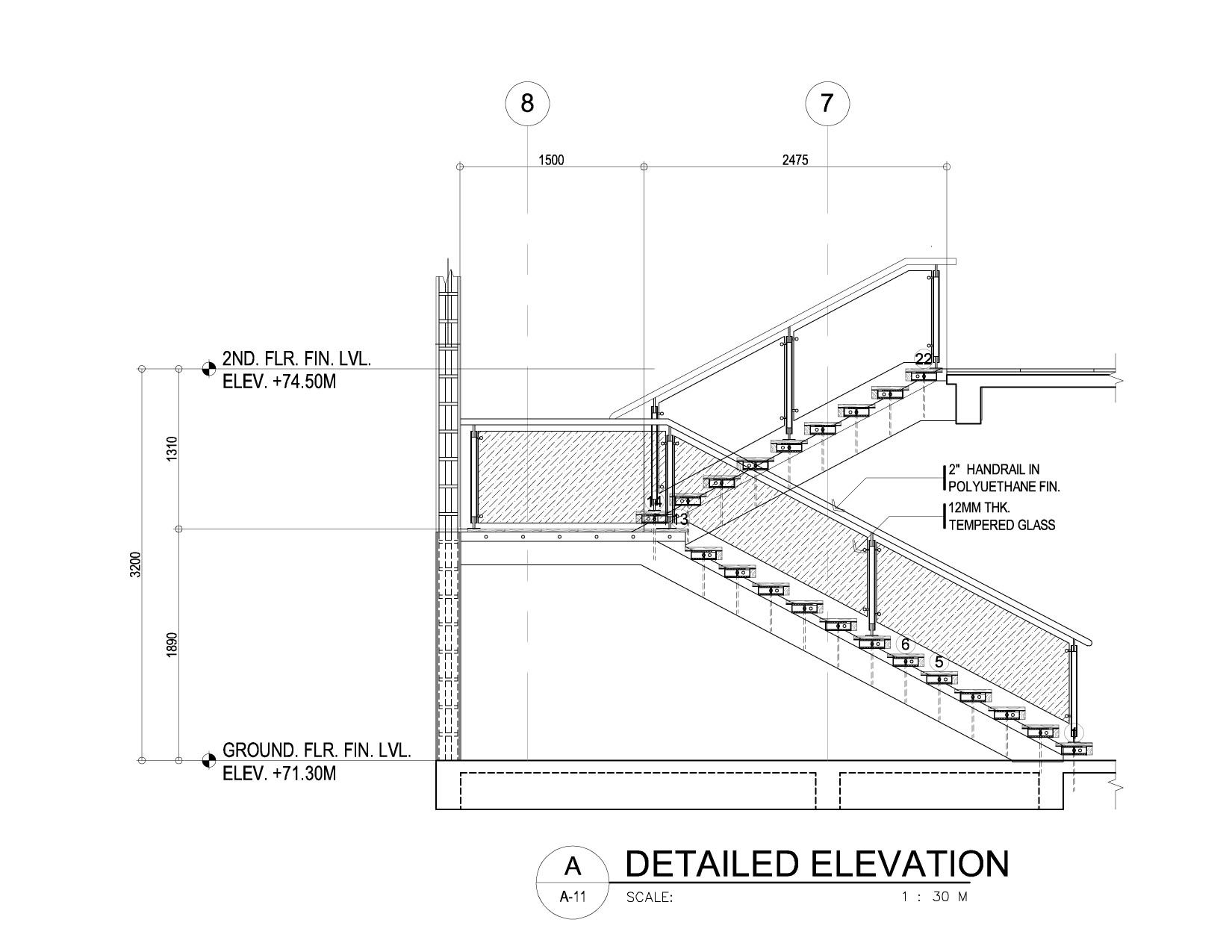 Uncategorized Staircase Detailing a modern cantilever staircase in steel and wood concrete stairs wood