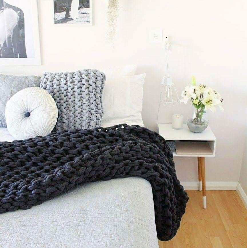 Adairs Rebecca Judd Adairs Styling Chunky Knit Throw