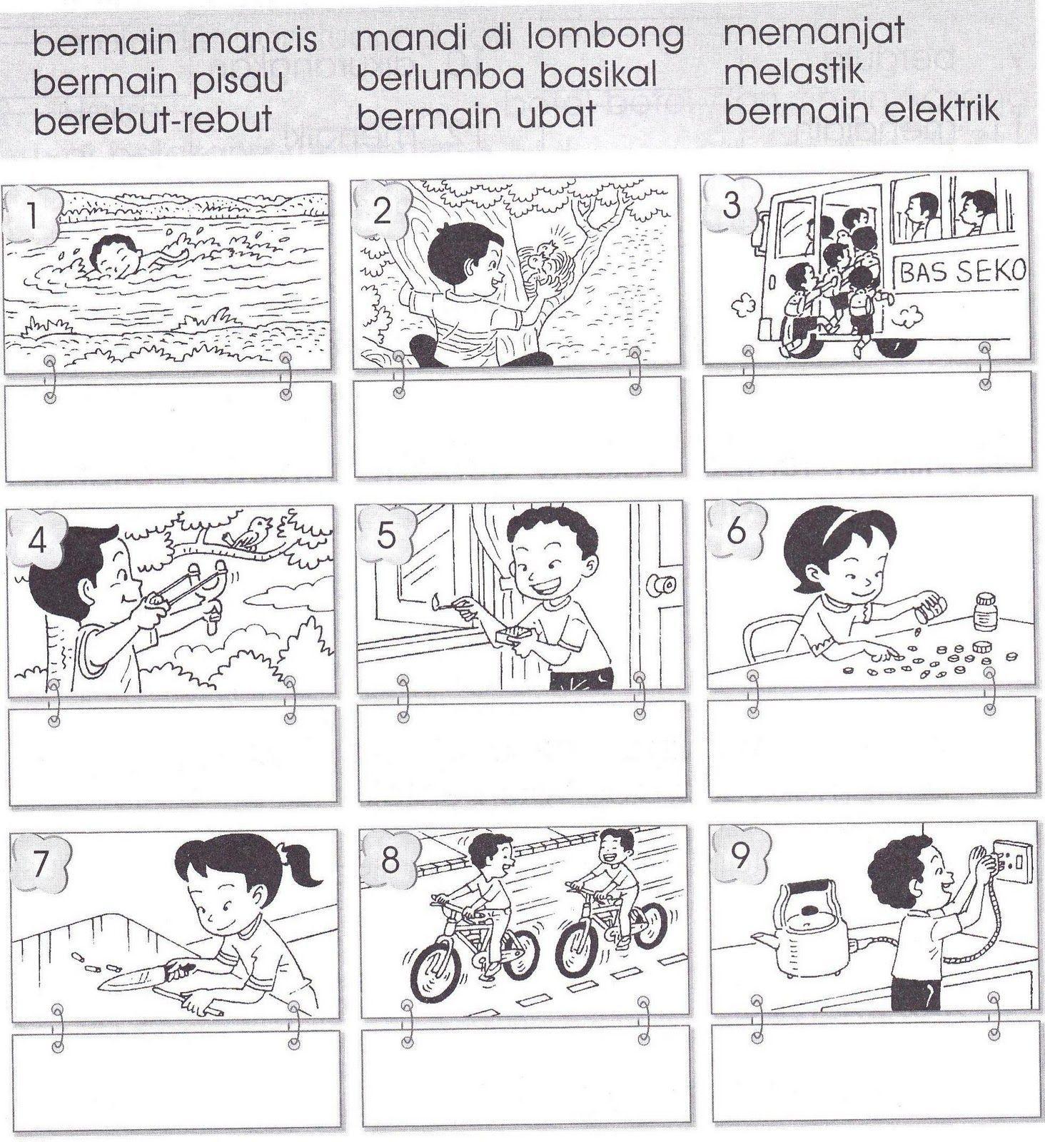 Image Result For Lembaran Kerja Bahasa Melayu Tahun 2 Kata Imbuhan Ter Kindergarten Reading Activities Kindergarten Reading Free Kindergarten Worksheets