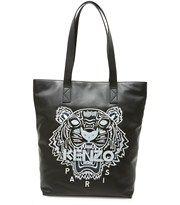 Kenzo: Tiger broderet læder tote set på YouHeShe