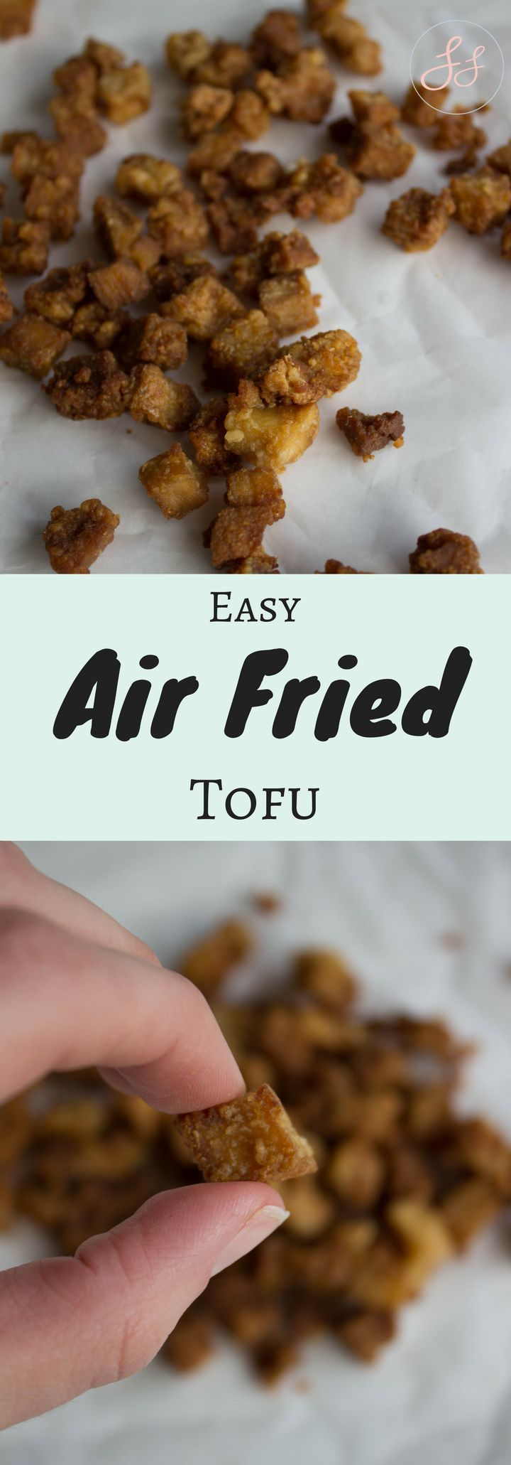 Easy Air Fried Tofu Recipe Food, Vegan dishes, Tofu