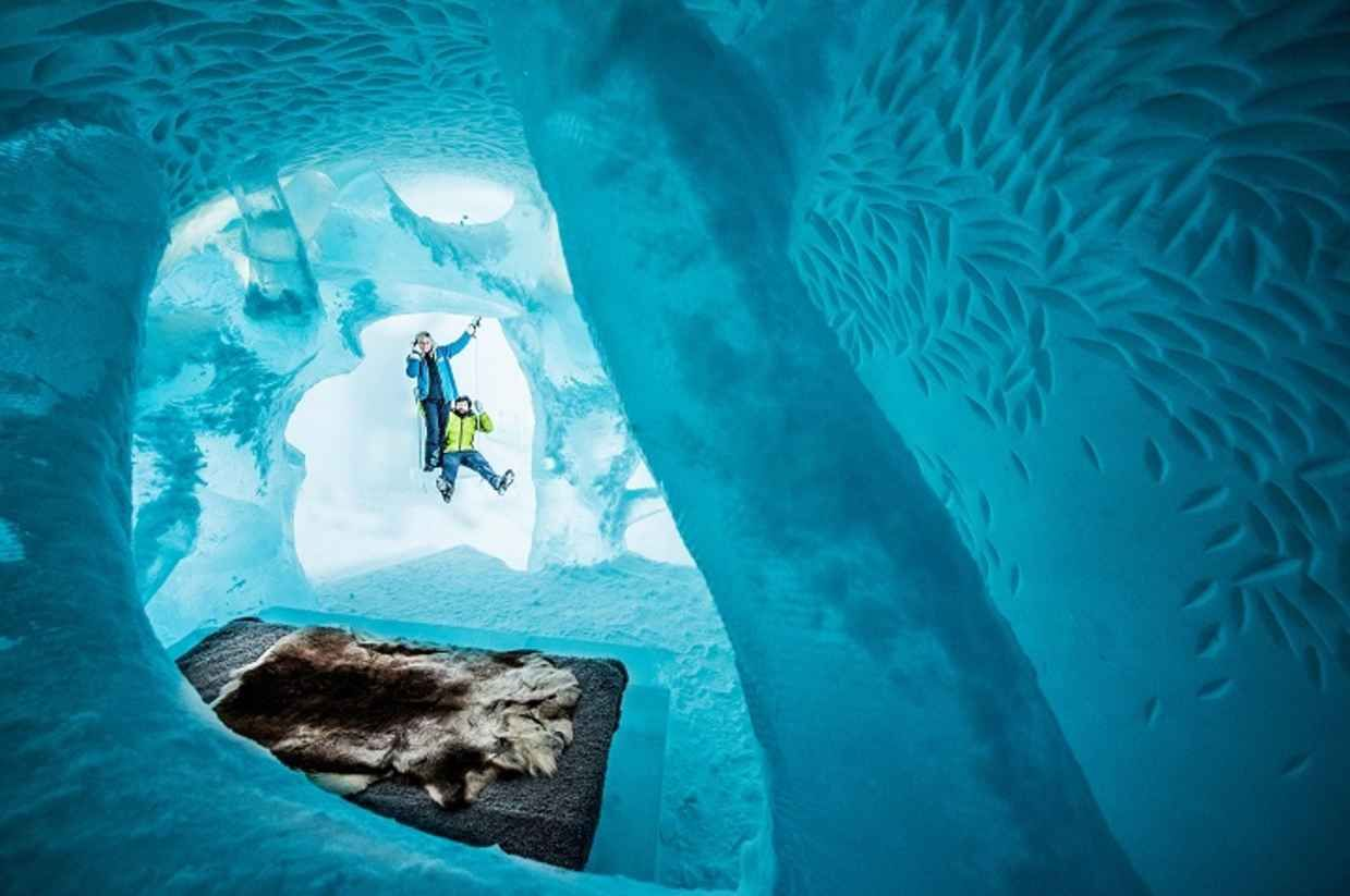 Sweden's Ice Hotel Will Let You Sleep Room Made Entirely of Ice - BlazePress
