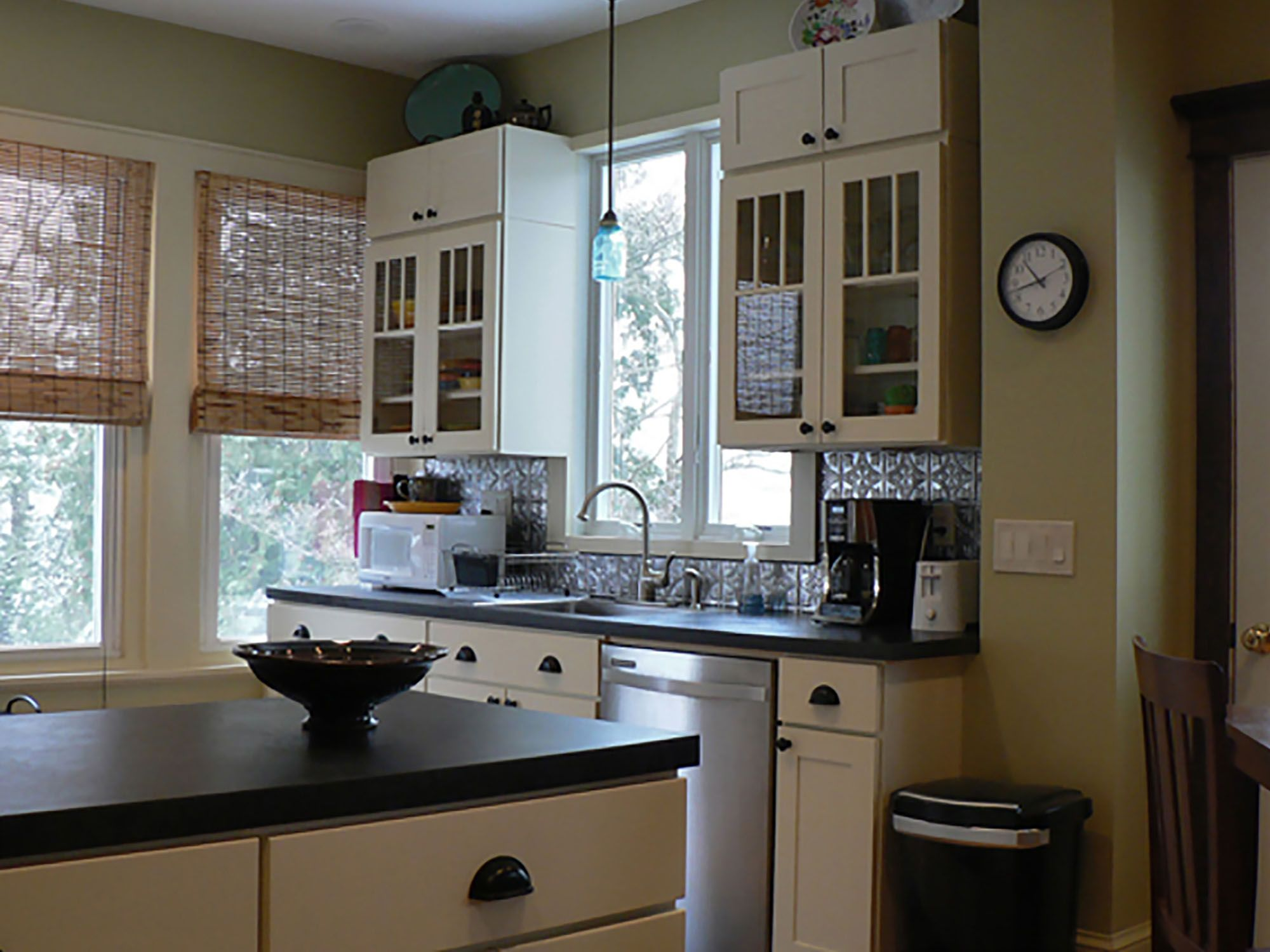 Silver Springs Maryland Kitchen Renovation Features CliqStudios Rockford  Maple Caramel Cabinets