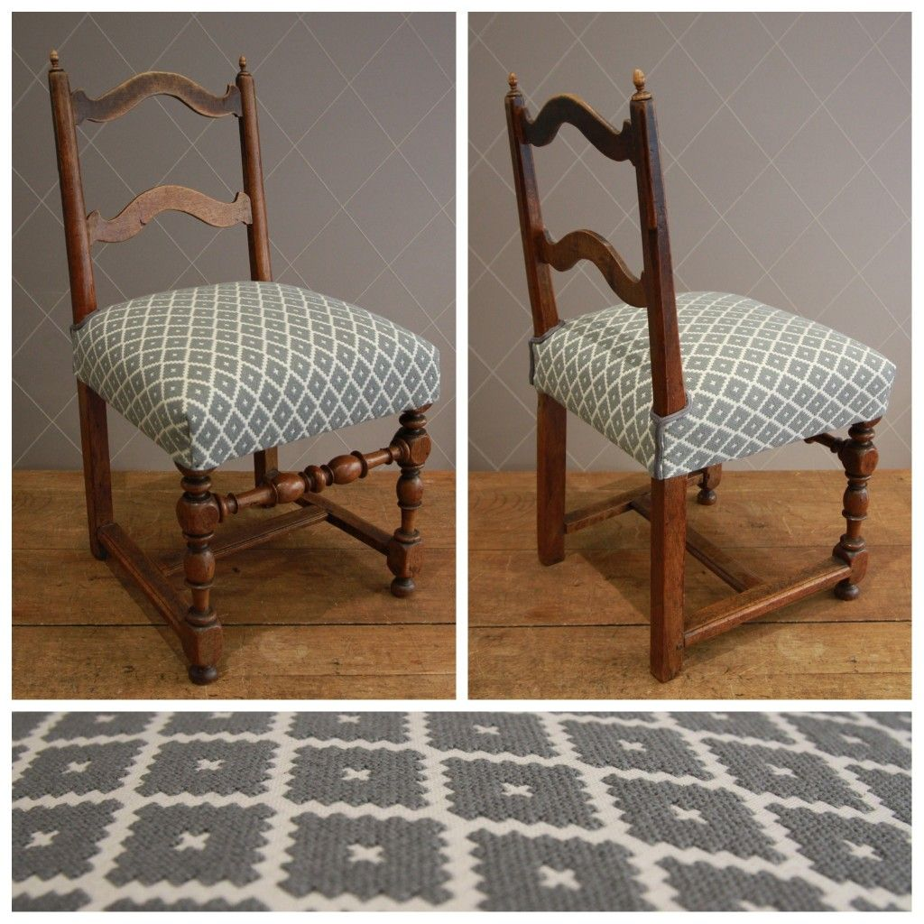 nouvelle assise en crin d 39 une chaise paysanne tissu canovas pinterest paysan chaises et. Black Bedroom Furniture Sets. Home Design Ideas