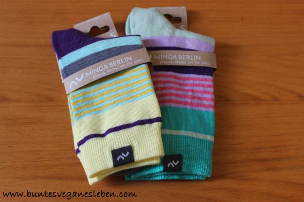 Lovely & colorful socks by Minga Berlin