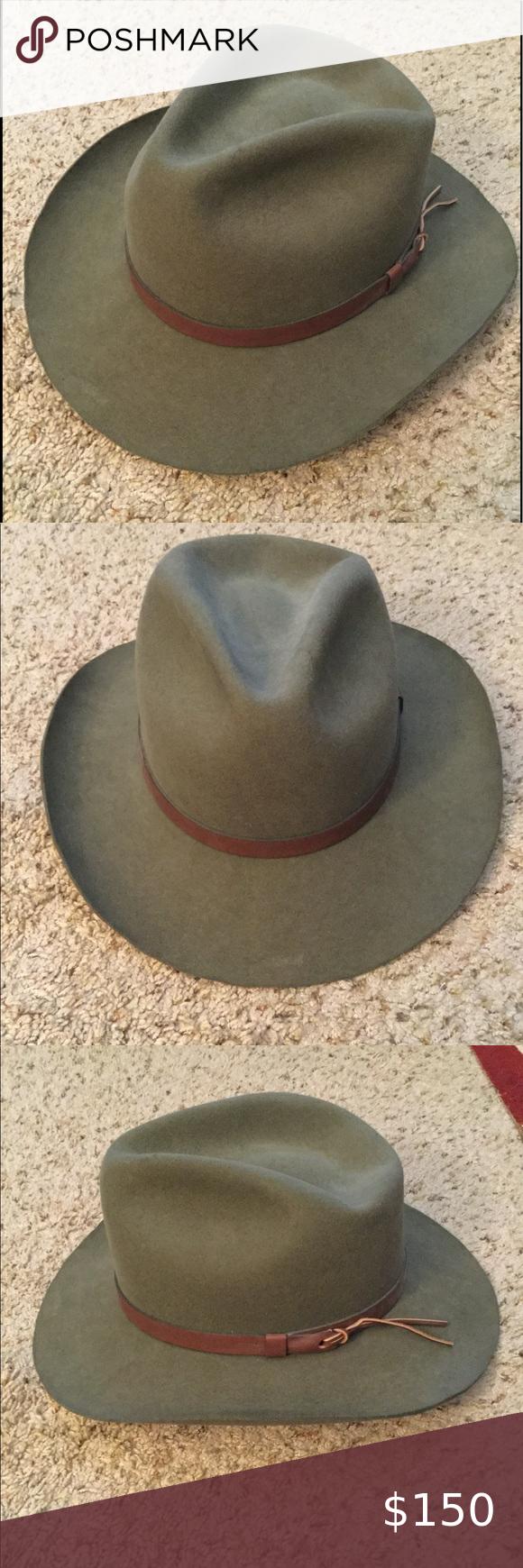 Vintage Stetson Mallory Outland Cowboy Western Hat Western Cowboy Hats Western Hats Stetson