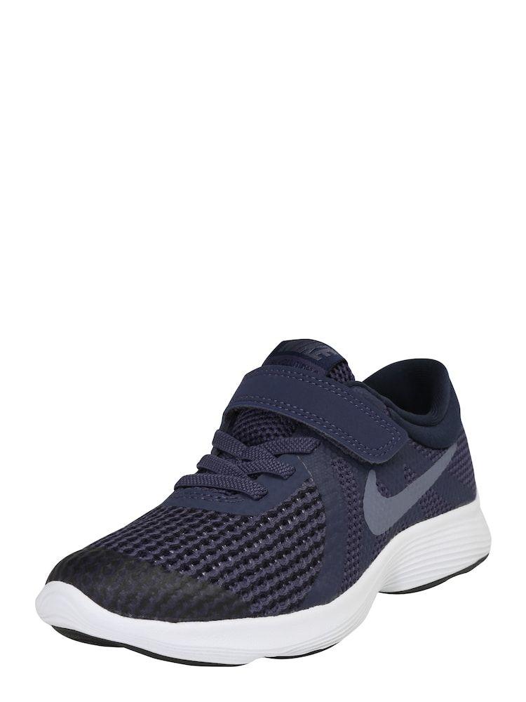 Nike Sportswear Sneaker 'Revolution 4' Jungen, Marine / Weiß, Größe 33.5