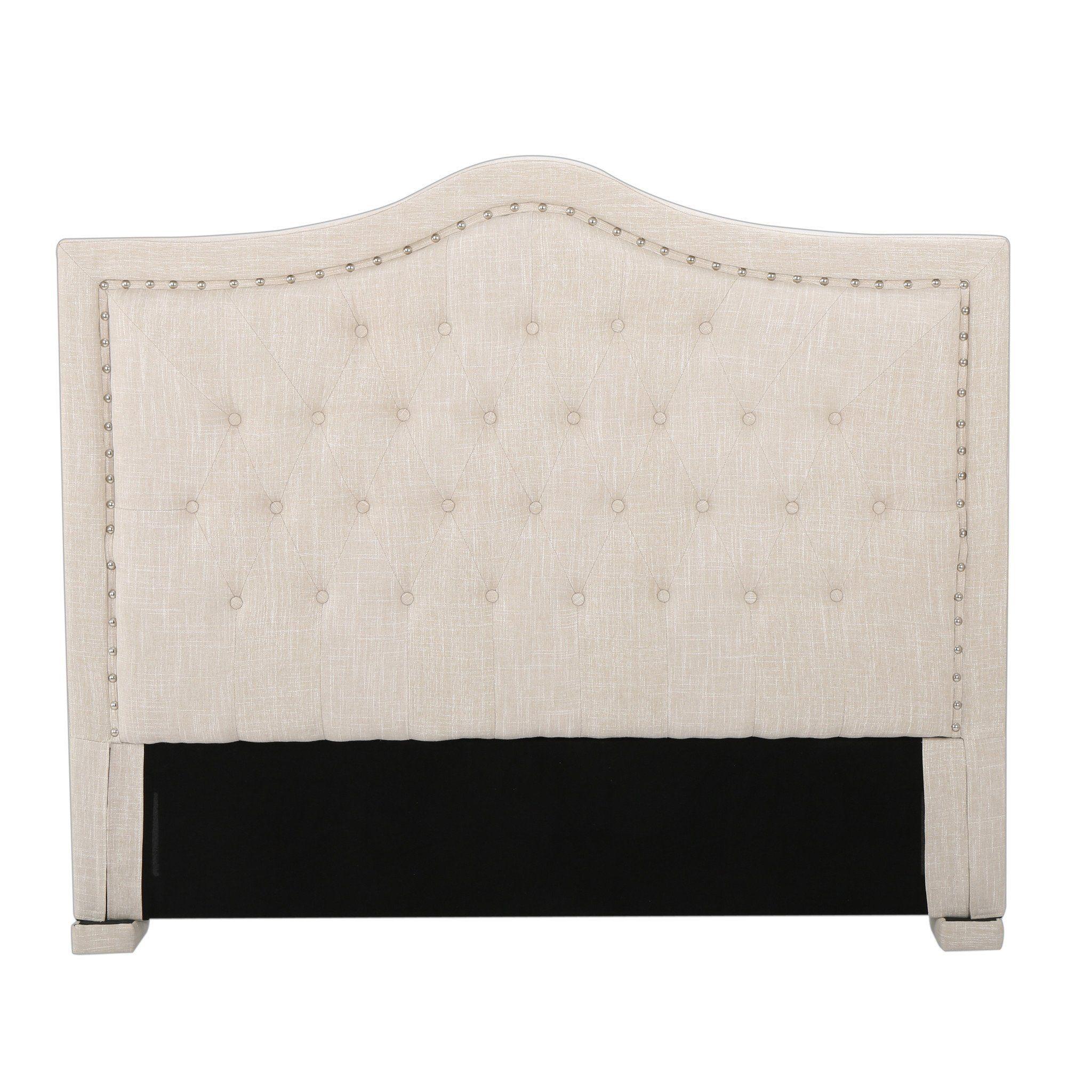 Denise Austin Home Ronan King/California King Upholstered Tufted ...