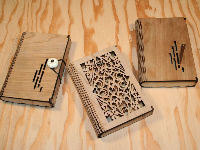 Flex Box - A wooden box with a living hinge by Maker23 ...