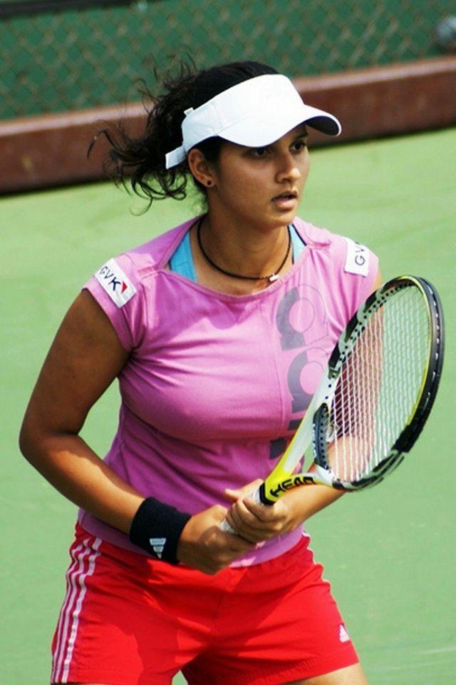 Wallpaper Tennis Girl Sania Mirza Born 15 November 1986 In Mumbai Is A