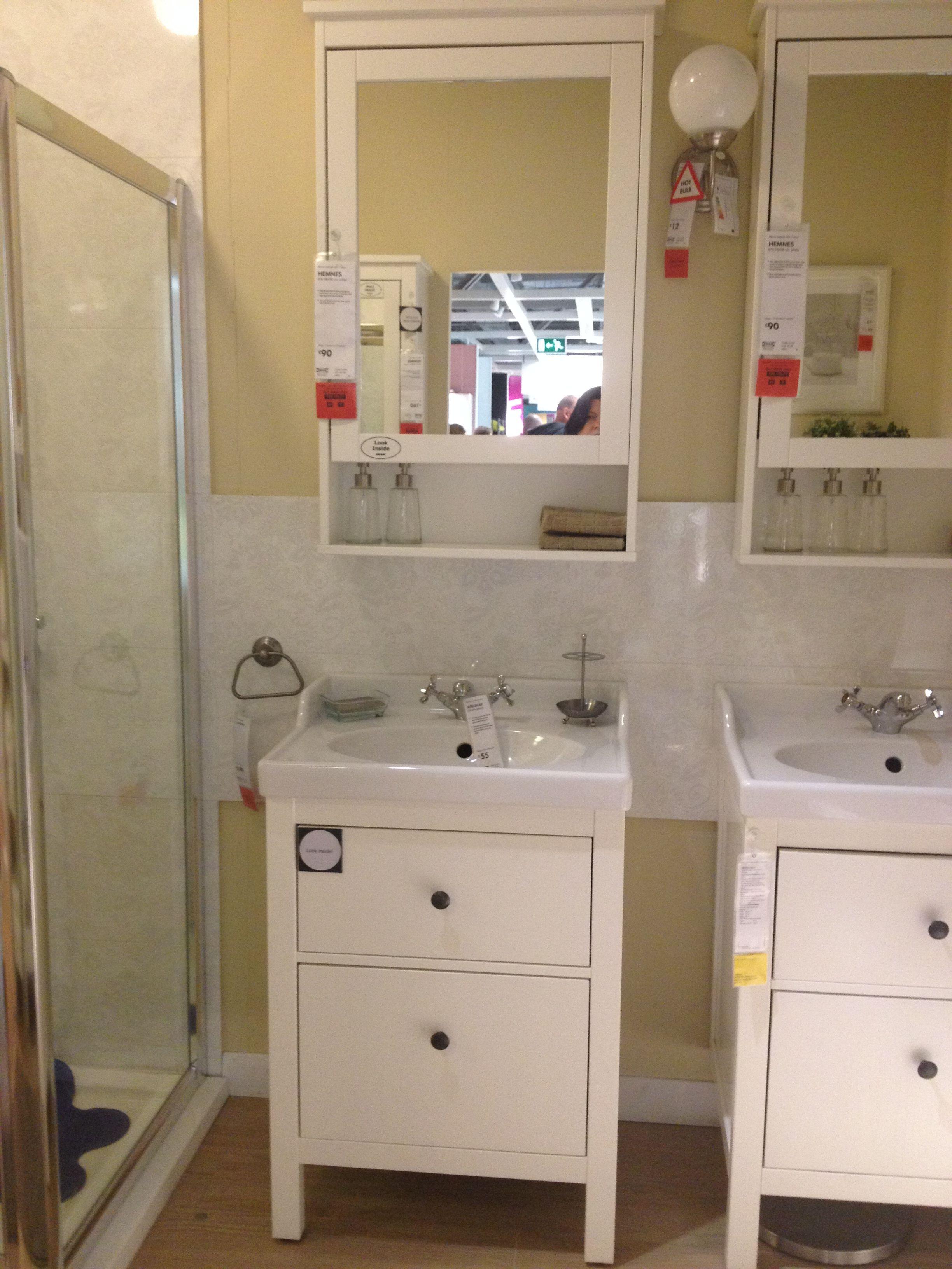 Ikea hemnes washstand salle de bain - Ikea conception salle de bain ...