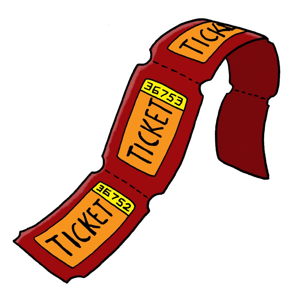Carnival Ticket Clipart Carnival Tickets Clip Art Raffle