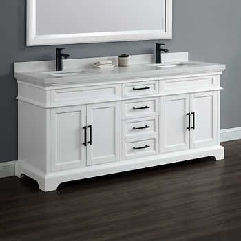 Chandler 72 Double Sink Vanity By Mission Hills Double Sink