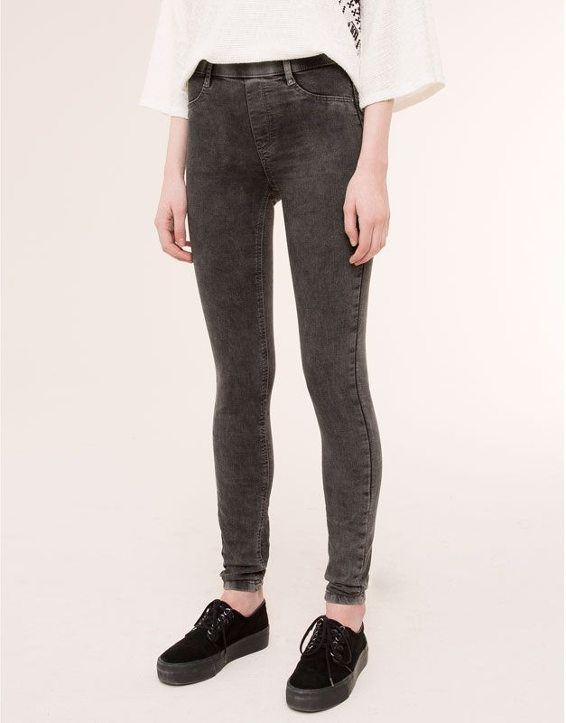 GOMA JEANS amp;BEAR JEGGING BÁSICO PULL MUJER CINTURA España ECwfSq