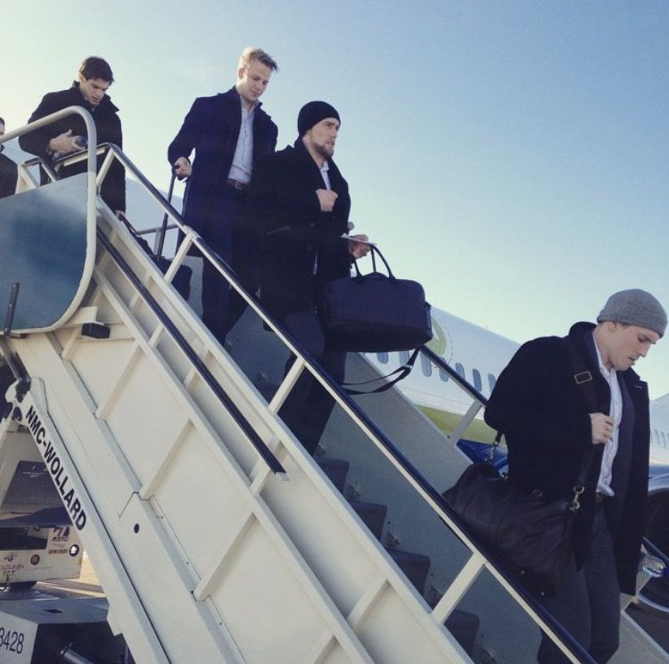 The habs head to Detroit
