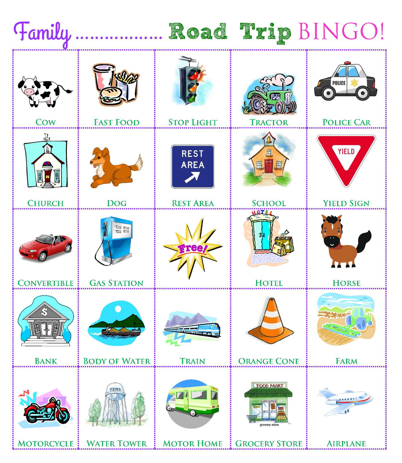 The O C D Life Travel Week Road Trip Games