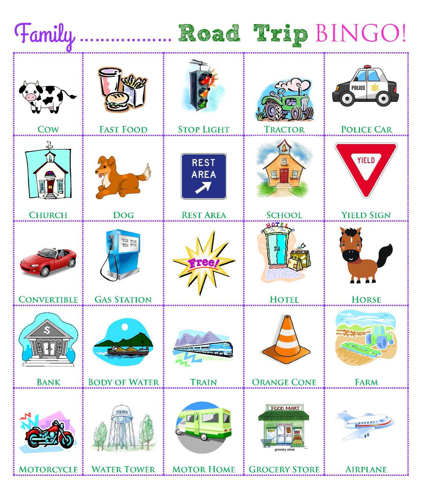 Travel Week Road Trip Games