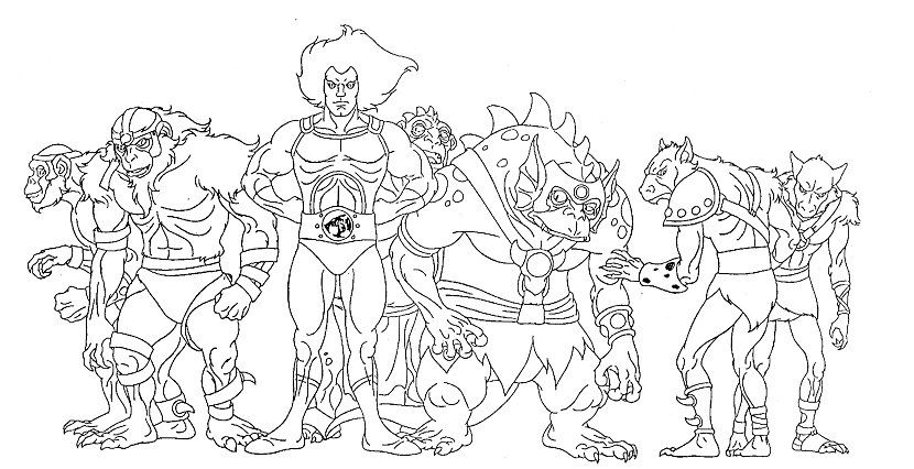 Thundercats Coloring Pages To Print | Coloring Pages