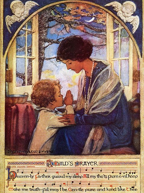 A Child's Prayer by Jessie Willcox Smith, 1920's