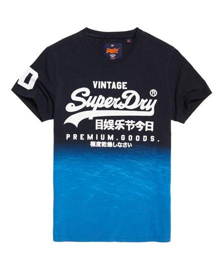 c1bfa7567 Superdry Premium Goods Tropical T-shirt Navy