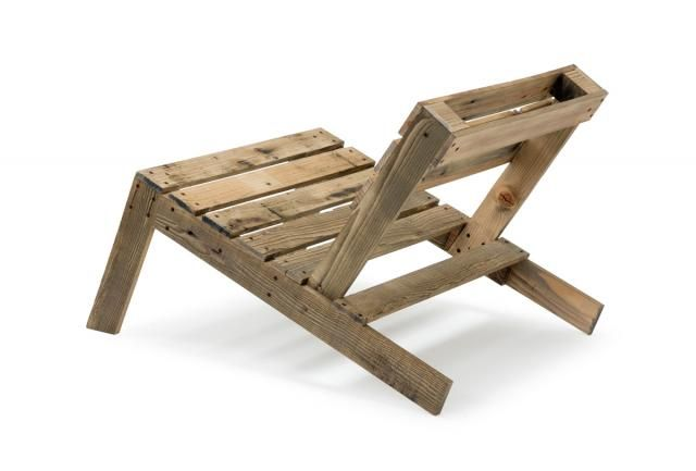 by Nina Tolstrup - Pallet Chair Lo