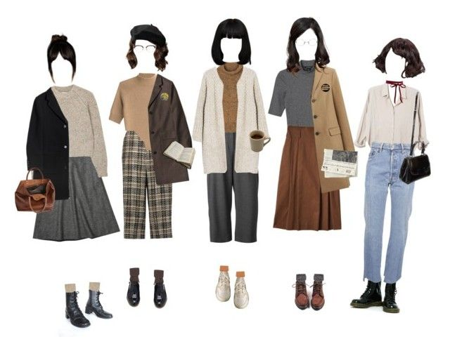 """""""Writer's Club Meeting"""" by silentmoonchild ❤ liked on Polyvore featuring Dr. Martens, Xirena, Vetements, Fendi, Valentino, Theory, Brora, KG Kurt Geiger, Étoile Isabel Marant and Monki"""