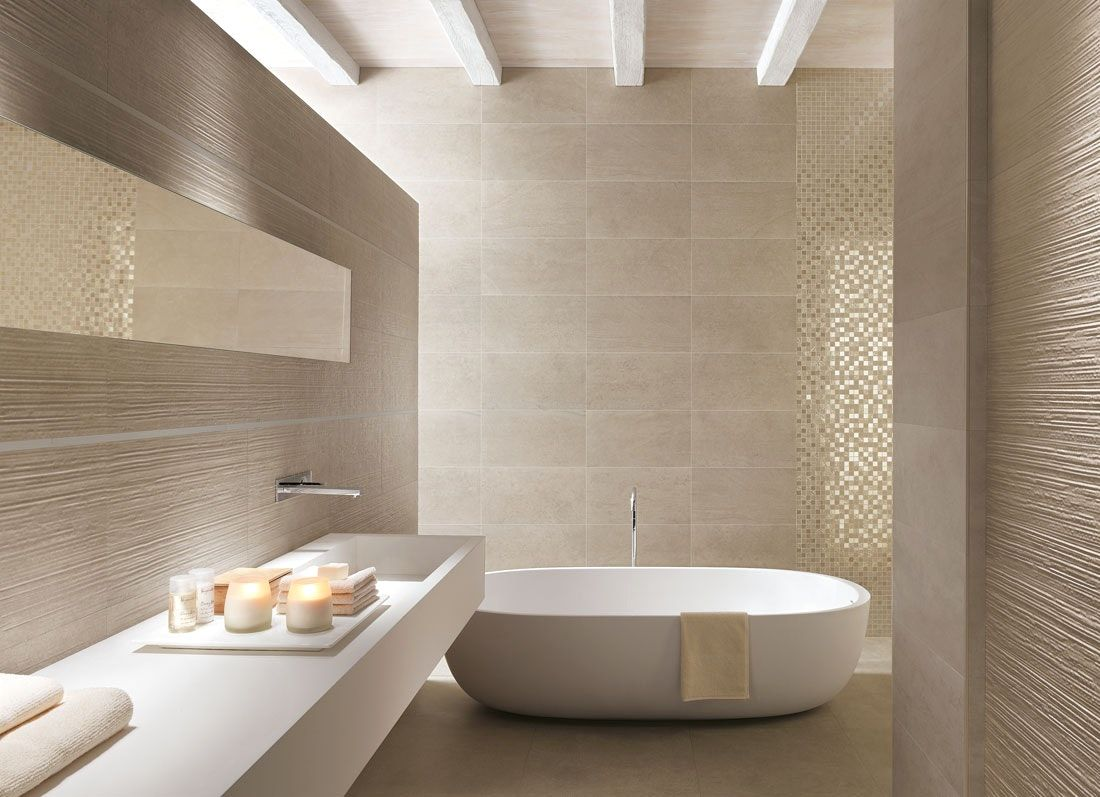 Moderne Bader Braun Modern Bathroom Tile Art Deco Bathroom Beige Bathroom