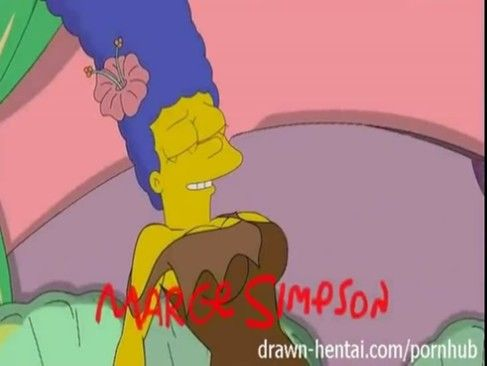 Marge Simpson And Lois Lesbian