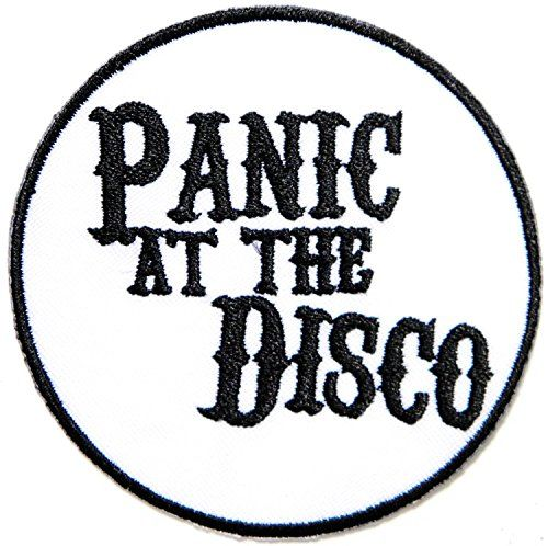 panic at the disco heavy metal punk rock music band logo patch sew rh pinterest com Thrash Metal Band Logos Rock and Metal Band Logos