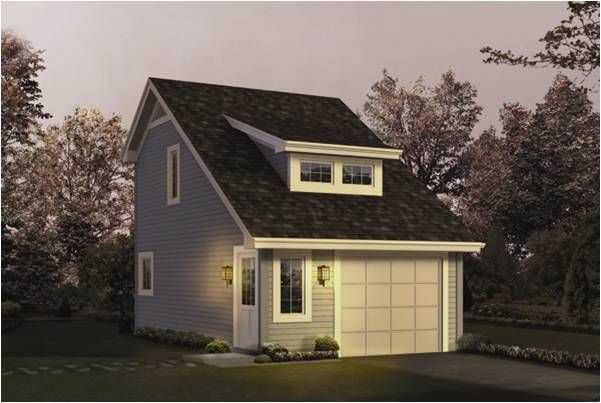 Glanville 1 Car Garage Plans Carriage House Plans Garage Studio Apartment Garage Apartment Plan