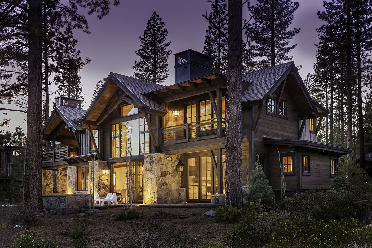 Martis Camp Lot 314 In North Lake Tahoe By Kelly And Stone Architects Lake Tahoe Ca Steamboat Rustic Houses Exterior Modern Farmhouse Exterior Castle House