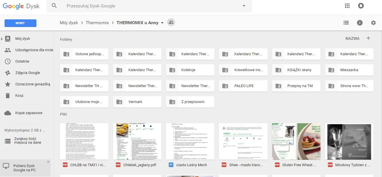 THERMOMIX u Anny (google drive)