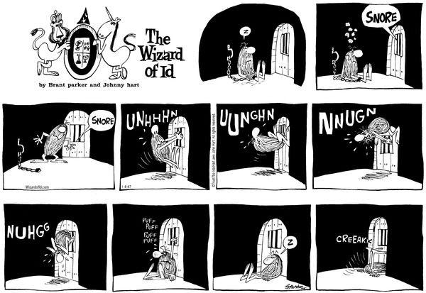 Wizard of Id Classics Comic Strip, January 08, 2017     on GoComics.com