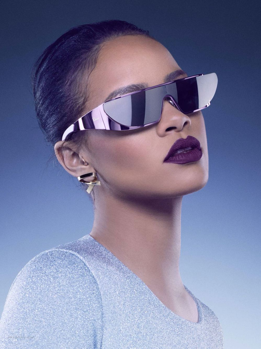 a72e2493890d3 Rihanna Fenty X Dior sunglasses style fashion promo photoshoot ...