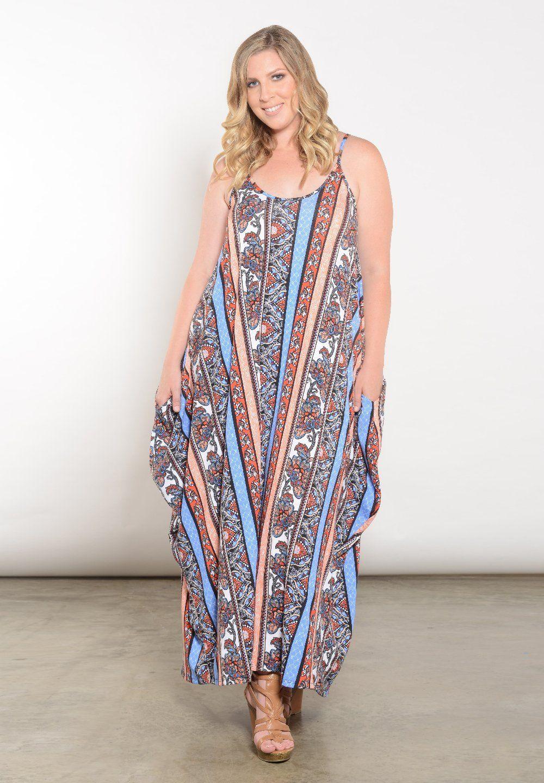 Layla Maxi Dress | New Plus Size Clothing at SWAK | Dresses ...